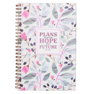 Wire bound Notebook- Plans to give you hope and a future