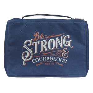 Canvas Bible Cover-Be Strong & Courageous