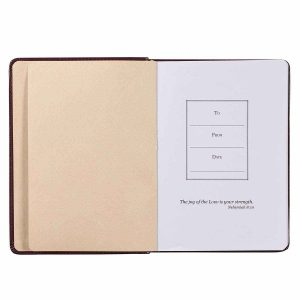 Journal-With God All Things Are Possible Pink
