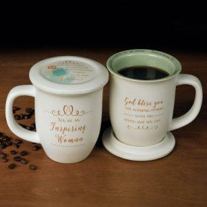 Mug With Coaster-You're An Inspiring Woman
