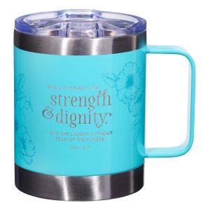 Travel Mug-Strength & Dignity