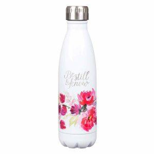 Stainless Steel Water Bottle-Be Still
