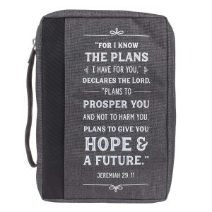 Canvas Bible Cover-For I know the Plans