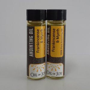 Anointing Oil – Frankincense & Myrrh 1/4 Oz