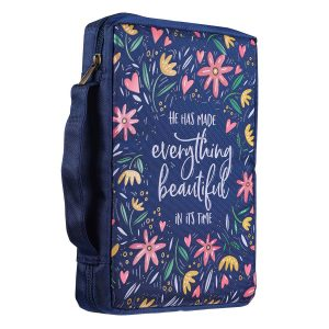 Canvas Bible Cover-He Has Made Everything Beautiful