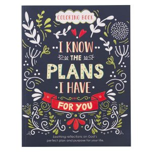 Coloring Book-I Know The Plans I have For You