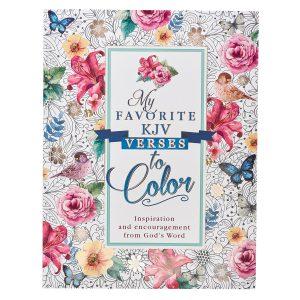 Coloring Book-My Favorite KJV Verses To Color