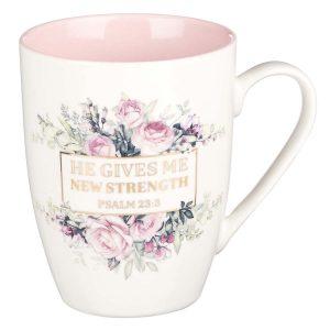 Mug-He Gives Me New Strength