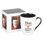 Mug-Nurse She is Clothed with Strength & Dignity
