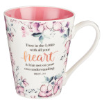 Mug-Trust in The Lord With all Your Heart