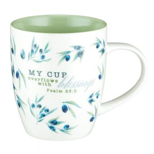 Mug-My Cup overflows with Blessings