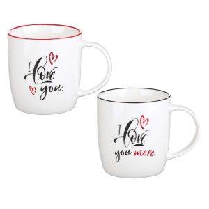 Mug Set- I Love You