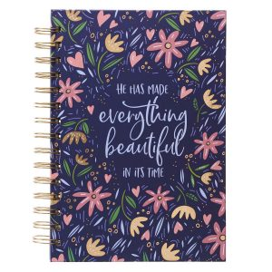 Journal Wirebound-He Has Made Everything Beautiful